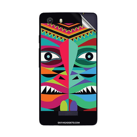 Tribal Face For MICROMAX Q372 UNITE 3 Skin