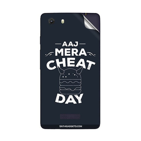 Aaj Mera Cheat Day For MICROMAX Q372 UNITE 3 Skin