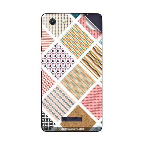 Varied Pattern For MICROMAX Q372 UNITE 3 Skin