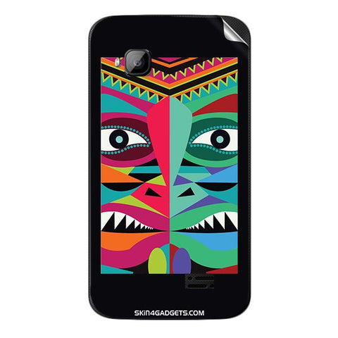 Tribal Face For MICROMAX S300 Skin