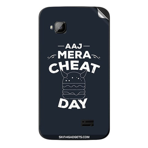 Aaj Mera Cheat Day For MICROMAX S300 Skin