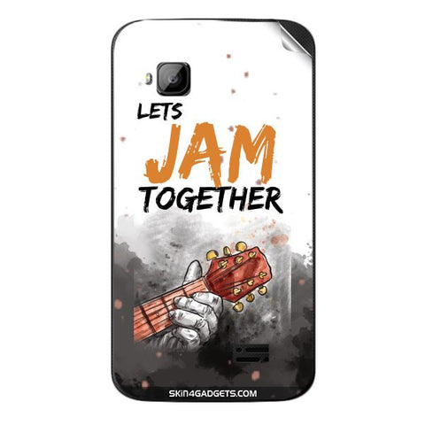 Lets Jam Together For MICROMAX S300 Skin