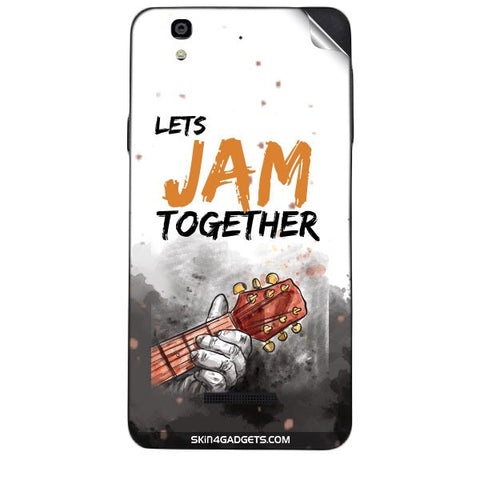 Lets Jam Together For MICROMAX  YUREKA Skin