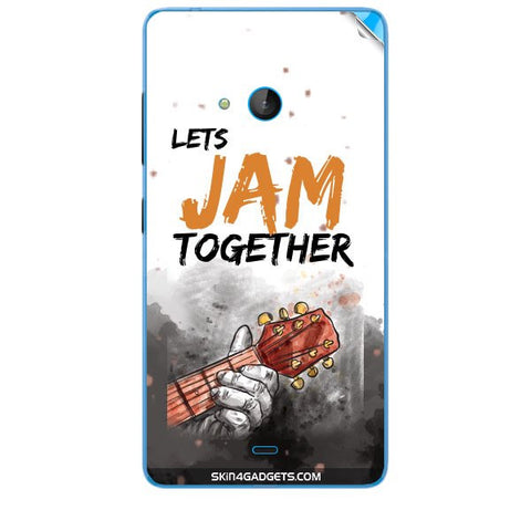 Lets Jam Together For MICROSOFT LUMIA 540 Skin