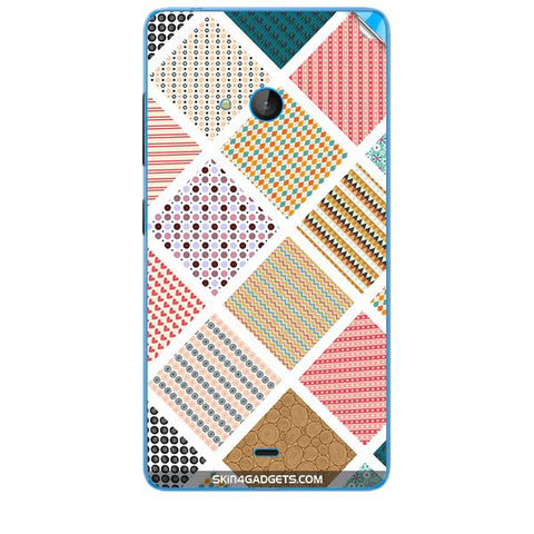 Varied Pattern For MICROSOFT LUMIA 540 Skin
