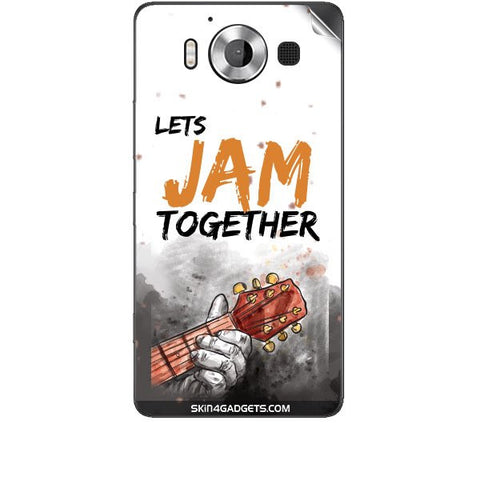 Lets Jam Together For MICROSOFT LUMIA 950 Skin