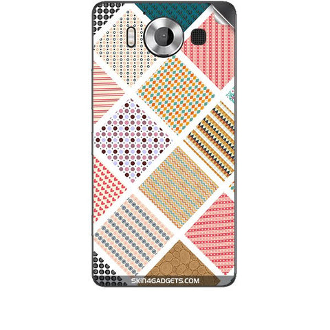 Varied Pattern For MICROSOFT LUMIA 950 Skin