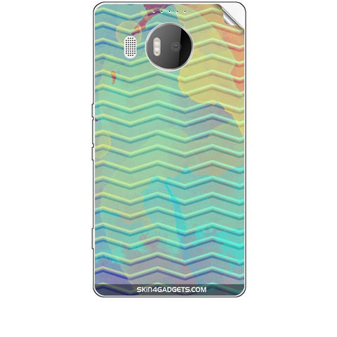Colourful Waves For MICROSOFT LIMIA 950 XL Skin