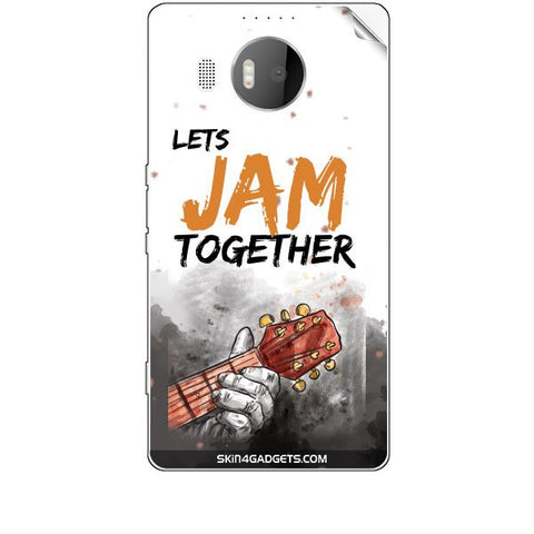Lets Jam Together For MICROSOFT LIMIA 950 XL Skin