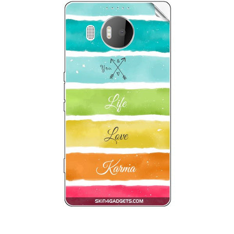 Lets Love Life For MICROSOFT LIMIA 950 XL Skin