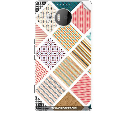 Varied Pattern For MICROSOFT LIMIA 950 XL Skin
