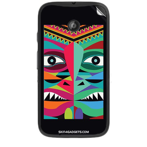 Tribal Face For MOTOROLA MOTO E2 Skin