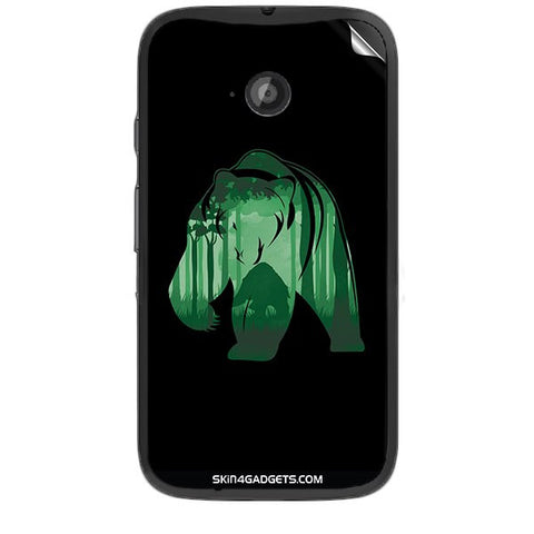 Bear For MOTOROLA MOTO E2 Skin