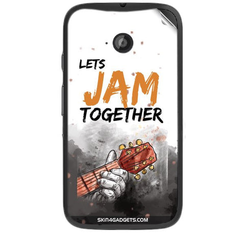 Lets Jam Together For MOTOROLA MOTO E2 Skin