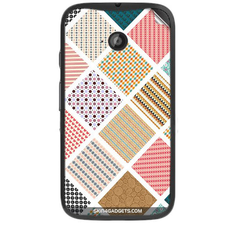 Varied Pattern For MOTOROLA MOTO E2 Skin
