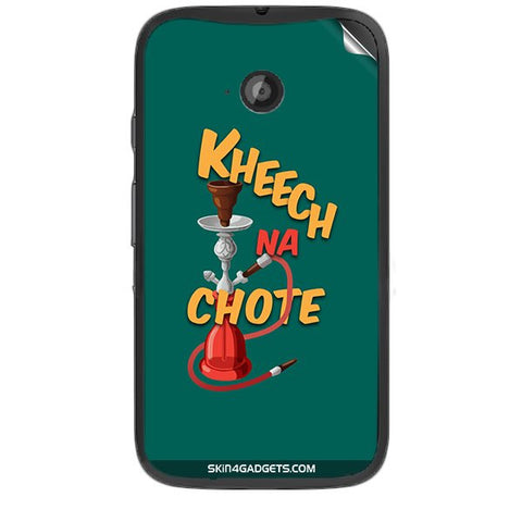 Kheech na Chote For MOTOROLA MOTO E2 Skin