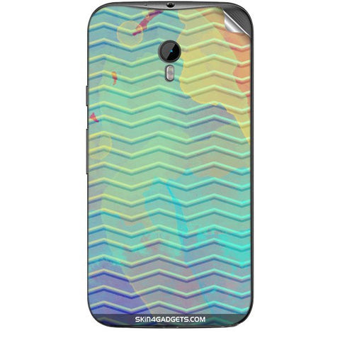 Colourful Waves For MOTOROLA MOTO G3 Skin