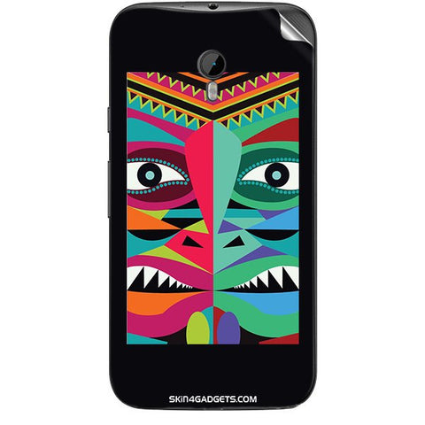Tribal Face For MOTOROLA MOTO G3 Skin