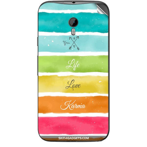 Lets Love Life For MOTOROLA MOTO G3 Skin