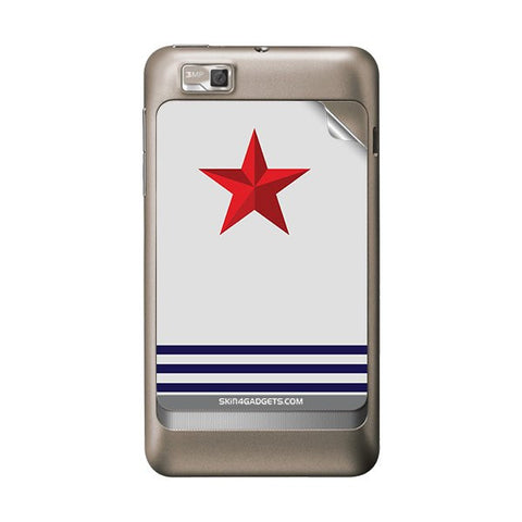 Star Strips For MOTOROLA XT390 Skin