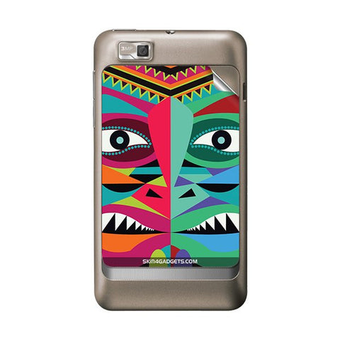 Tribal Face For MOTOROLA XT390 Skin
