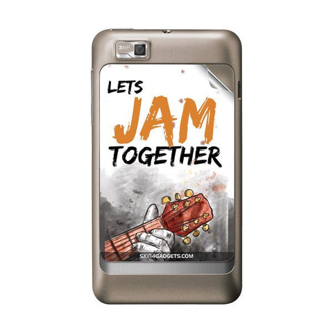 Lets Jam Together For MOTOROLA XT390 Skin