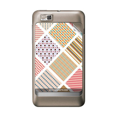 Varied Pattern For MOTOROLA XT390 Skin
