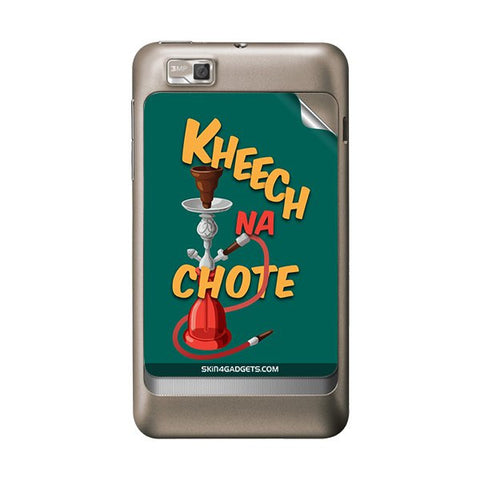 Kheech na Chote For MOTOROLA XT390 Skin