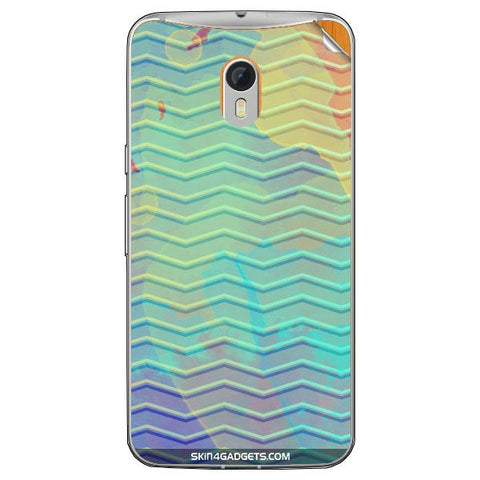 Colourful Waves For MOTOROLA MOTO X STYLE Skin