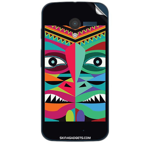Tribal Face For MOTOROLA MOTO X (XT-1055,1053) Skin