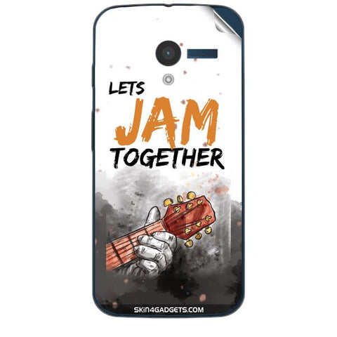Lets Jam Together For MOTOROLA MOTO X (XT-1055,1053) Skin