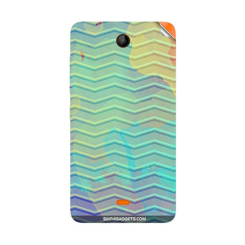 Colourful Waves For NOKIA LUMIA 430 Skin