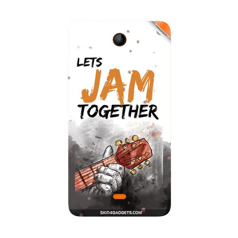 Lets Jam Together For NOKIA LUMIA 430 Skin