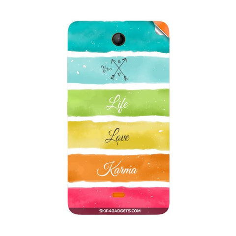 Lets Love Life For NOKIA LUMIA 430 Skin