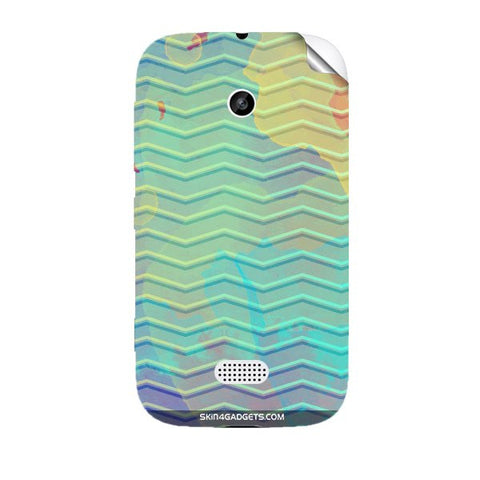 Colourful Waves For NOKIA LUMIA 510 Skin