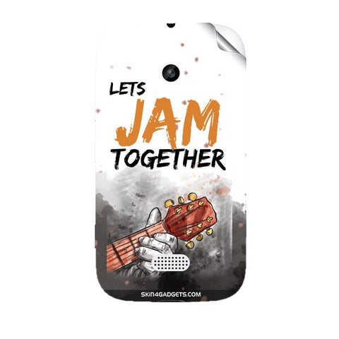 Lets Jam Together For NOKIA LUMIA 510 Skin