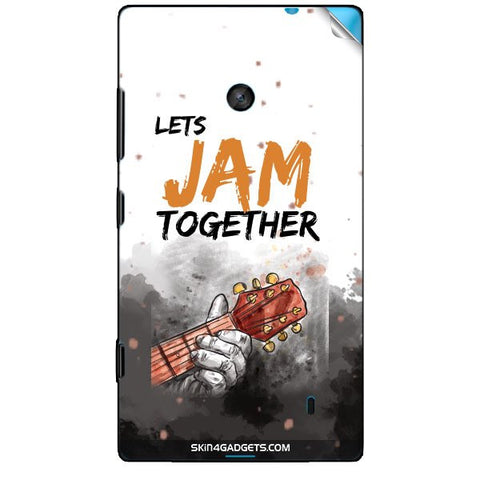 Lets Jam Together For NOKIA LUMIA 520 Skin