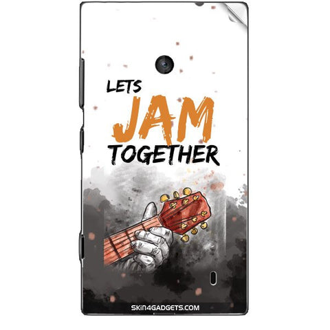 Lets Jam Together For NOKIA LUMIA 525 Skin