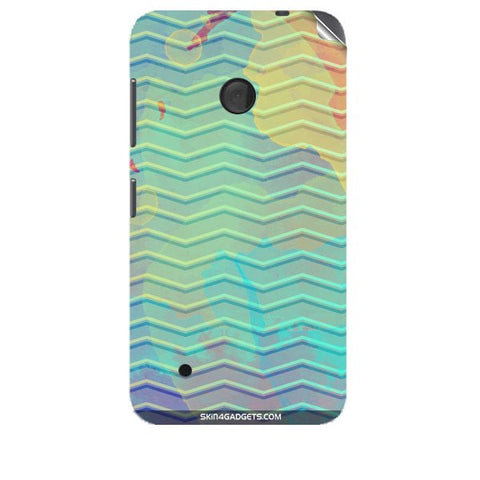 Colourful Waves For NOKIA LUMIA 530 Skin