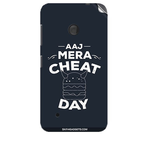 Aaj Mera Cheat Day For NOKIA LUMIA 530 Skin