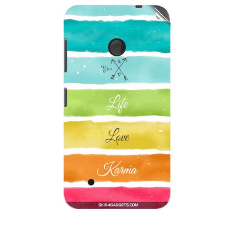 Lets Love Life For NOKIA LUMIA 530 Skin