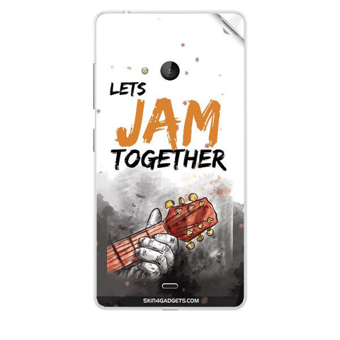 Lets Jam Together For NOKIA LUMIA 540 Skin