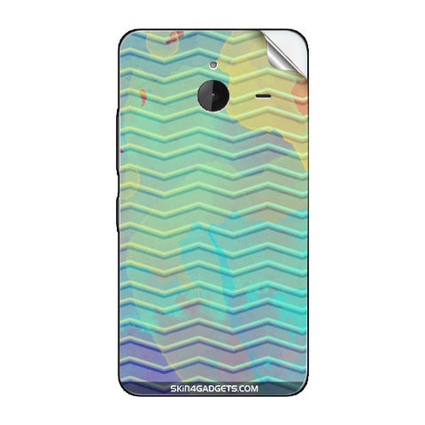 Colourful Waves For NOKIA LUMIA 635 Skin