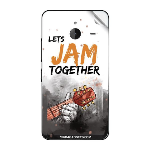 Lets Jam Together For NOKIA LUMIA 635 Skin