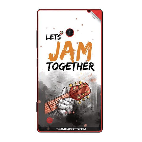 Lets Jam Together For NOKIA LUMIA 720 Skin