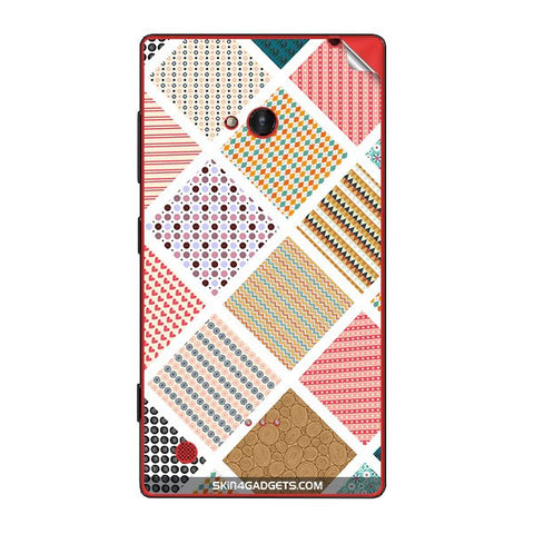 Varied Pattern For NOKIA LUMIA 720 Skin