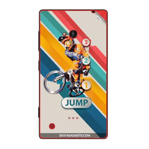 1 2 3 Jump For NOKIA LUMIA 720 Skin