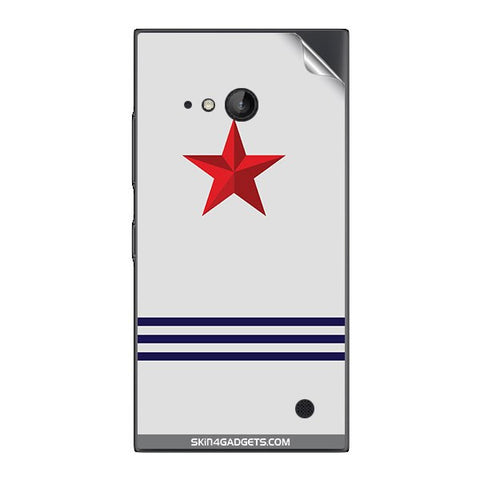 Star Strips For NOKIA LUMIA 730  (ONLY BACK) Skin