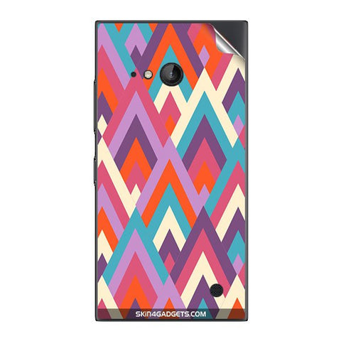 Peaks For NOKIA LUMIA 730  (ONLY BACK) Skin