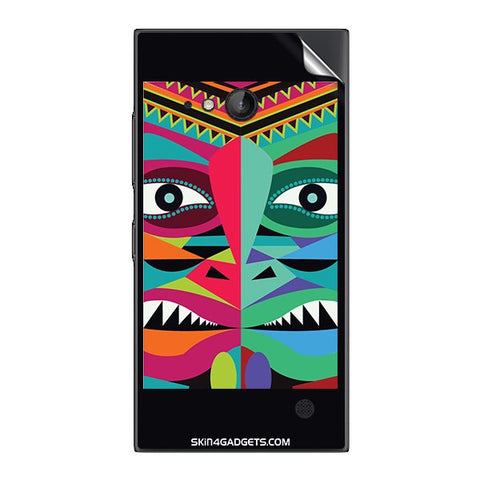 Tribal Face For NOKIA LUMIA 730  (ONLY BACK) Skin